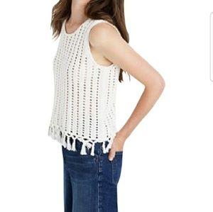 Madewell Knit Ivory Tank